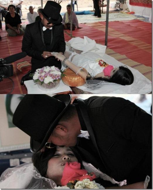 small_man marries dead girfriend